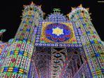 Festa di paese con gran spettacolo di luminarie