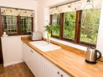 Kitchen - Badgers Den Holiday Cottage