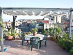 piazza plebiscito dalla terrazza