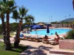 la piscina del villaggio- village swimming pool