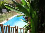 Swiming pool with own pool fence on request