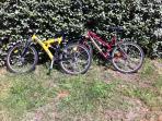 2 Vélos à disposition