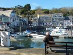 Padstow with it's harbour - begin the Camel trail from here