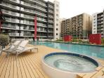Building pool and spa facilities