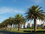 Beautiful area for walks/cycling along nearby river foreshore