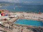 Beach Lisanj (water sports, jet-ski..)