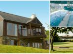 Stunning holiday home with leisure club & golf memberships