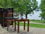 Views of  Loch Lomond from the deck