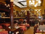Interior of Chartier Restaurant - set in an old library