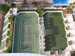 tenis an green de golf
