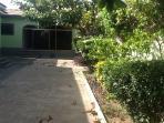 Inner front garden