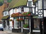The picturesque streets of Midhurst