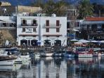 Famous kyrenia old harbour, just a 20 min drive