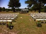 Weddings are possible on this property!