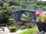Excellent selection - Restaurants/ tearooms/ pubs in Ironbridge.Free car park pass during your stay