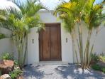 Balinese entrance door