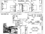 Plan détaillé du Gîte F5