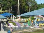 Newmarket Olympic Pool is suitable to all ages, perfect for family and is 100m walk across the road.