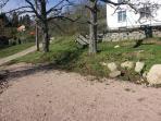 terrain pétanque jardin