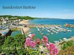 Visit Saundersfoot only a short drive from us. Treat yourself to a spa in the local spa hotel
