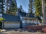 Home with spacious back deck, grill, hot tub and home theater room - Lone Pine Lodge