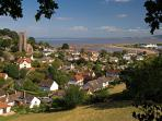 Minehead, view from North Hill