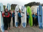 Learn To Surf at Robberg 5 (Blue Flag Beach with Lifeguards) 100m walk from cottage