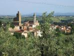 the view from Podere Zollaio: Vinci