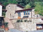 The outside of Stanza delle Merende,in Podere Sondino