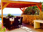 Don't waste the view, use the outside bbq and dine alfresco with a view of the sea