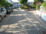 viale ingresso Villaggio Portomarina