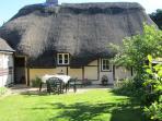 Rambler Cottage at the back