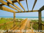 View from you private Gazebo