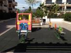 Area de juegos infantiles, para los mas peques