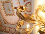 Fresco's and antique lighting