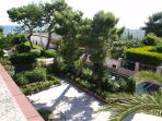 Sea view from the roof, garden and neighbour