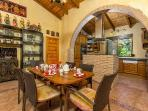 `Breakfast room off kitchen