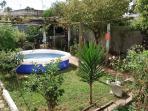 Nuestro Patio trasero / Our back yard