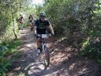 Giorgio, Guida di mountain bike, disponibile per accompagnamento ospiti