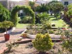 Jardim situado a sul