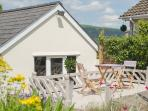 Enjoy soaking up the stunning local scenery from our new decking area
