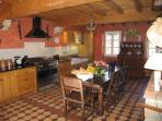Fully Equipped Stone Cottage Kitchen