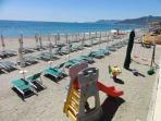 spiaggia privata convenzionata