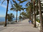 The famous Marbella Paseo Marítimo.