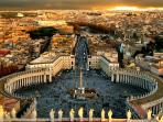 Rome's view from St.Peter's square