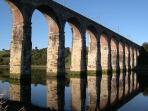 One of Berwick's three bridges. Riverside walks. Seals can often be spotted in estuary.