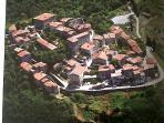vista aerea di Sticciano  (centro storico)