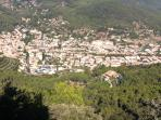 PANORAMIC VIEW OF ESPORLES FROM ERMITA