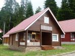 Chalet Tomba in the summer