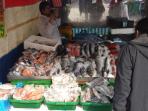 Fishmonger in Dalston Market